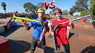 EXTREME GAME OF SCOOT! Chris Farris VS Claudius Vertesi