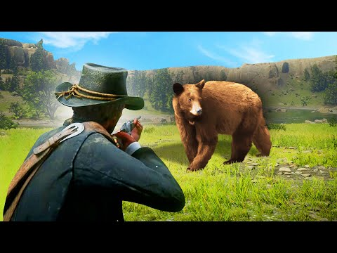 DEFEATING The MOST Dangerous Animals! (Red Dead Redemption 2)