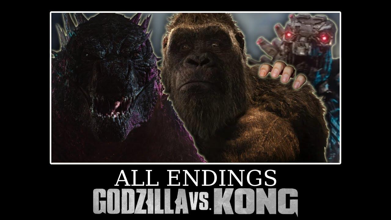 All Endings - Godzilla vs. Kong [Meme]