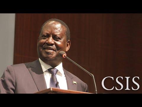 Raila Odinga on the Kenyan Elections