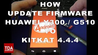 Install Cyanogen Android 4.4.4 KitKat Custom ROM / SlimKat 4.4.4 for Ascend Y300 Y330 G510 P6
