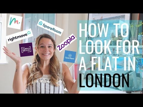 How To Look For A Flat In London // UK