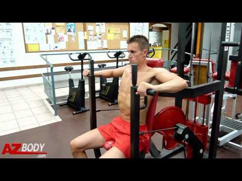 Musculation des pectoraux d velopp assis machine youtube - Pectoraux developpe couche ...