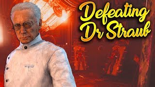 Defeating Dr  Straub on The Shadowed Throne! (Dr. Straub in the Zeppelin)