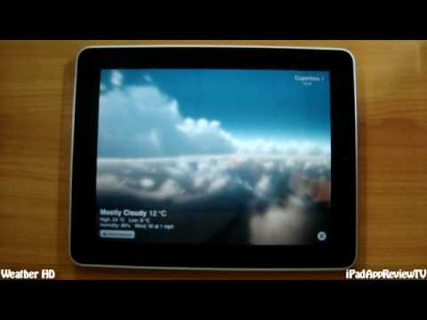 Weather HD - iPad App Review TV