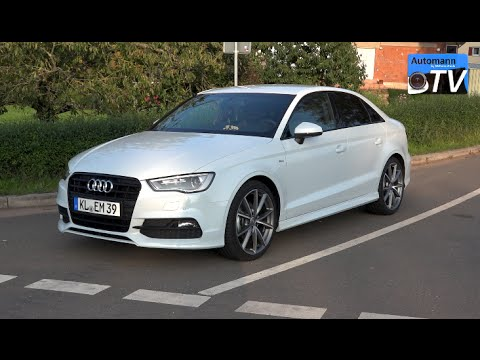 2015 audi a3 limousine 2 0 tdi 150hp drive sound 1080p youtube. Black Bedroom Furniture Sets. Home Design Ideas