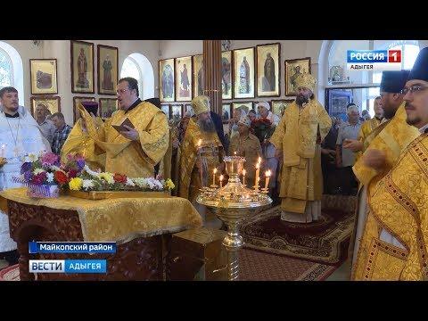 В храме поселка Краснооктябрьского отметили престольный праздник