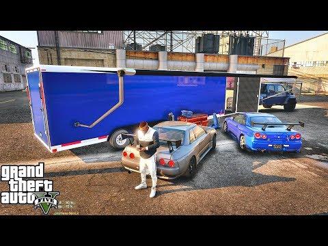 GTA 5 REAL LIFE MOD #561 - GTR'S FOR SALE & JDM GARAGE!!! (GTA 5 REAL LIFE MODS)