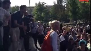 Мариуполь   народ против президентских выборов 16,05,2014