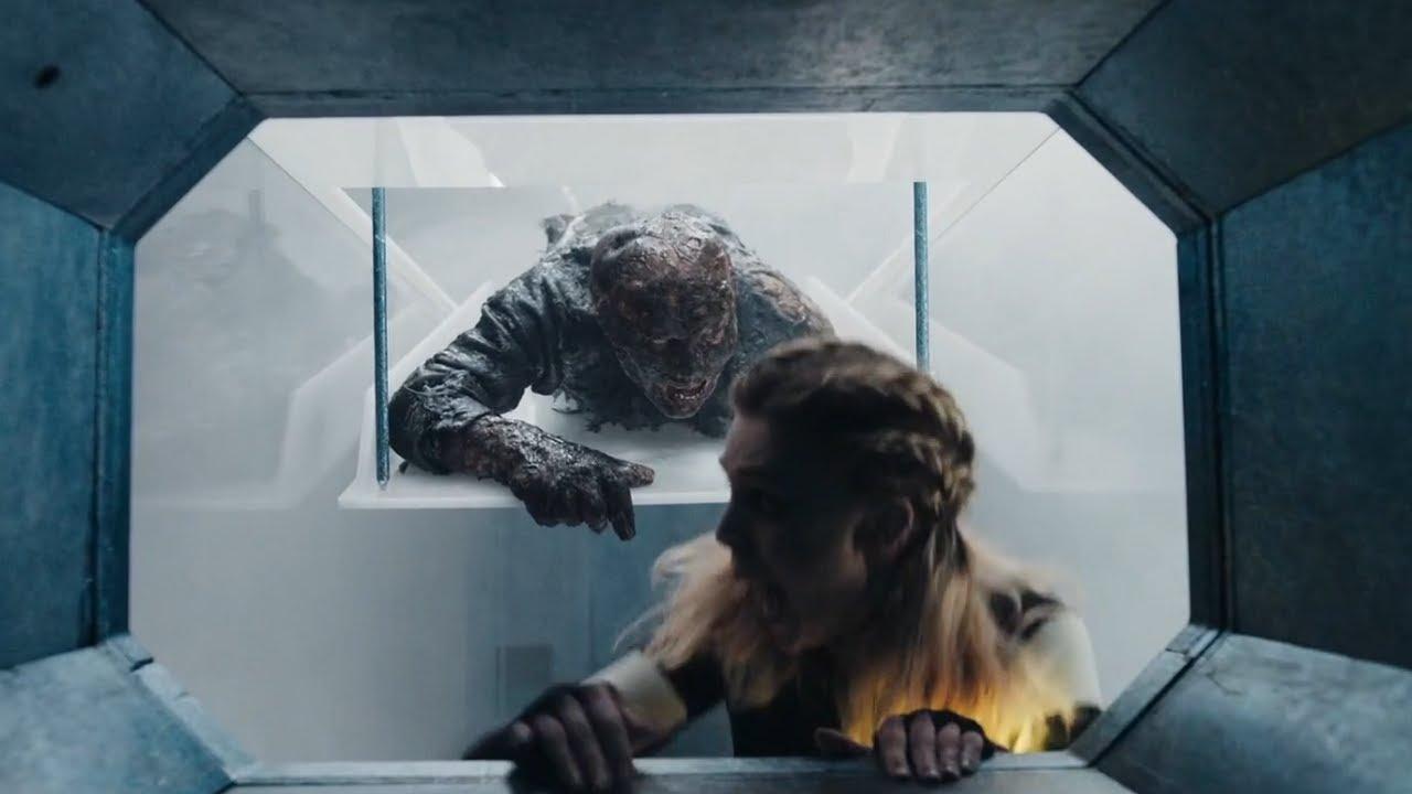 女子醒來發現被困管道密室,機關重重,身後還有怪物追趕,她該如何逃生!2021最新恐怖片《蜿蜒》【小青】