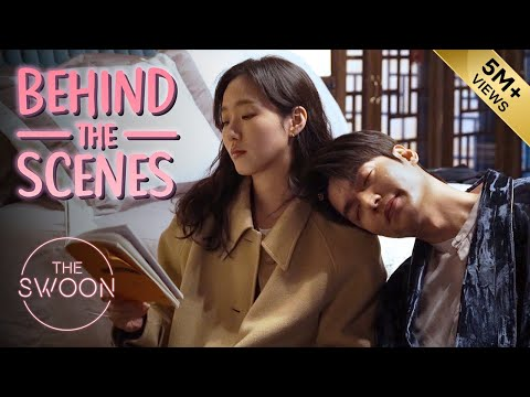 [Behind the Scenes]Lee Min-ho \u0026 Kim Go-eun go over the first kiss |The King:Eternal Monarch[ENG SUB]