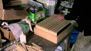 Bee Hive Construction: Assembling The Frames