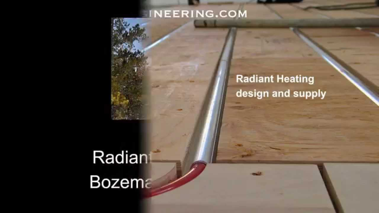 Radiant underfloor heating with thermofin youtube radiant underfloor heating with thermofin solutioingenieria Choice Image
