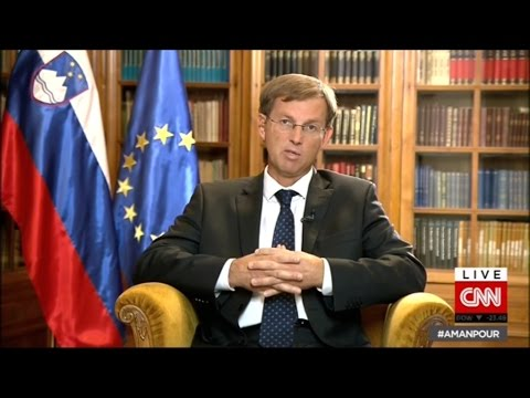 CNN Interview with Miro Cerar, Slovenian Prime Minister (Oct 26, 2015)