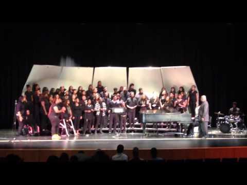 Lancaster High School choir ft. Tony Wade