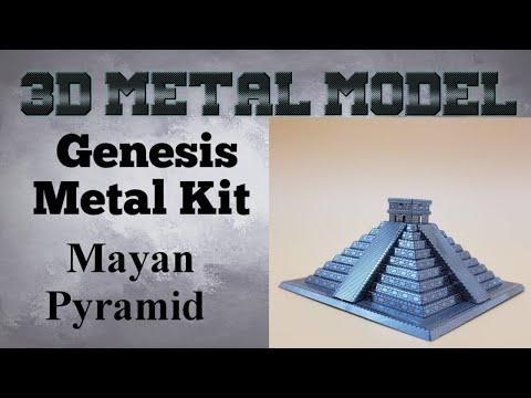 Genesis Metal Model Build - Maya Pyramid