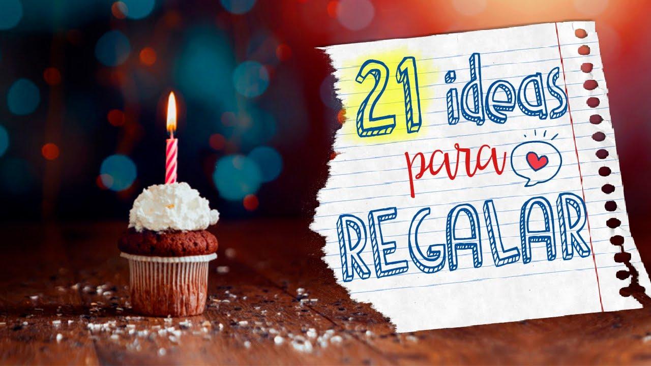 21 IDEAS ► REGALO de CUMPLEAÑOS que no se te hubieran ocurrido!!🤭✂️🎂 - [PARTE 1]
