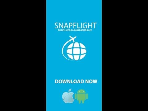 SnapFlight App - Flight, Hotel and Car rental booking