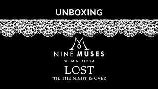 "9Muses (나인뮤지스) : 5th Mini Album ""LOST"" (Unsealed Album - Unb…"