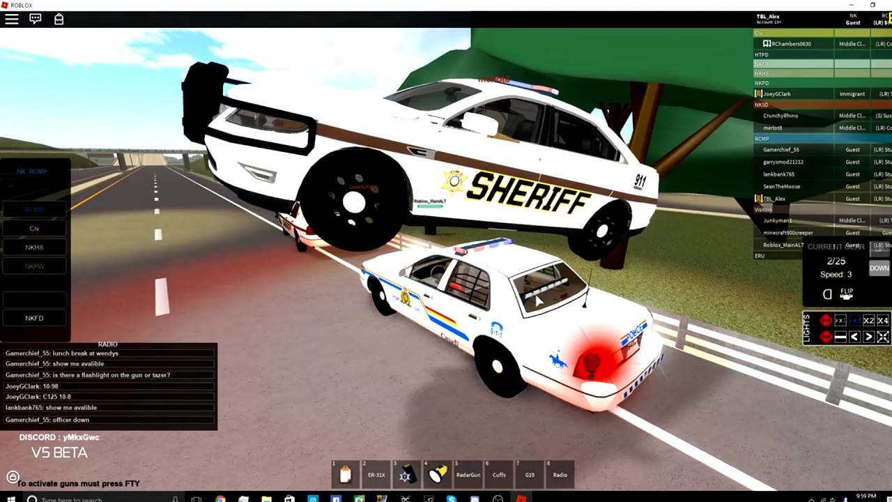 Rcmp Patrol Nkv5 Got Abused At The End - roblox new kempton rcmp youtube