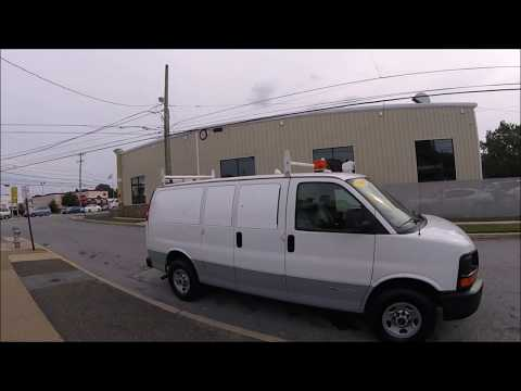2006 White /Gray GMC Savana G3500 (1GKHG35U061) with an 6.0L V8 OHV 16V engine, 4-Speed Automatic transmission, located at 577 Chester Pike, Prospect Park, PA, 19076, (610) 237-1015, 39.886154, -75.302338 - Photo #0