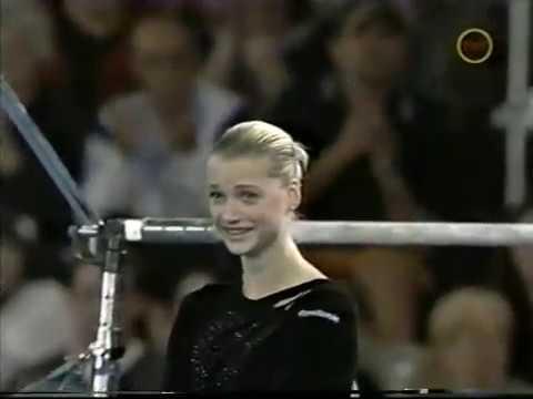 2001 Goodwill Games - Women's Uneven Bars Final Gymnastics