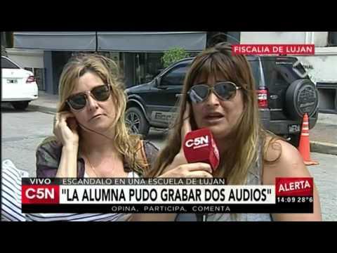 C5N - Policiales: Trasladan a la preceptora de Luján, acusada de abuso