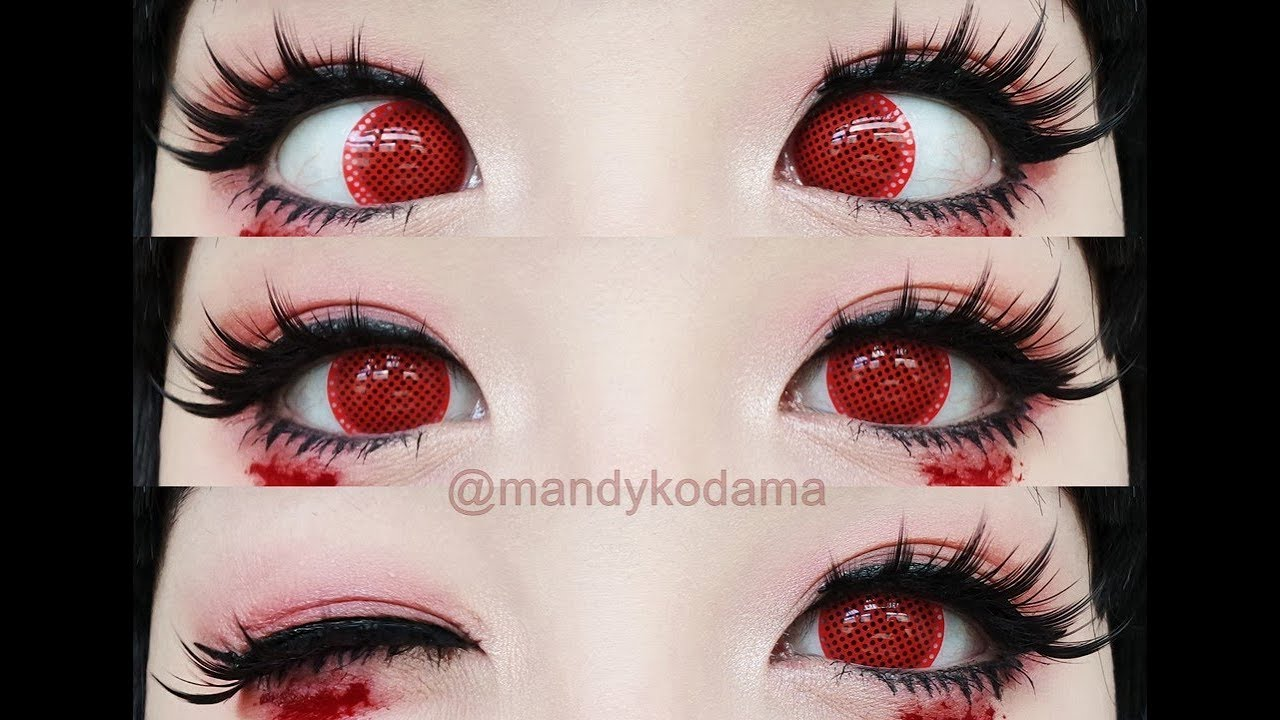 review circle lenses sweety crazy lens ry red screen sponsored  uniqso youtube