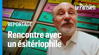 Laurent, le collectionneur aux 400 000 tickets de métro