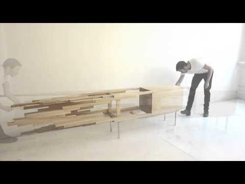 Sebastian Errazuriz Presents an Explosion in Furniture Form