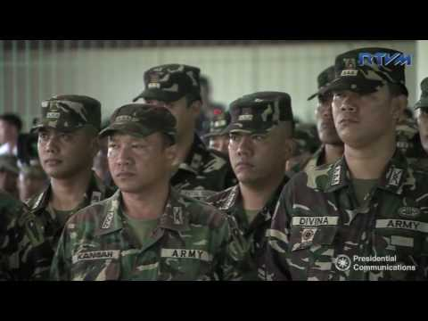 Talk to the Spear Troopers of the Philippine Army's 9th Infantry Division (Speech)