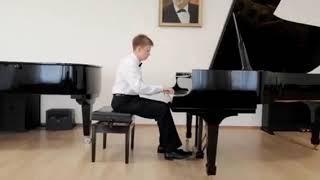 Хаматьяров Джамиль. Л. Бетховен. Соната 25.