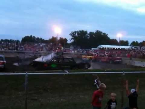 Rush City Mn 2013 / Chisago Co Fair 2013 / Old Iron demo derby
