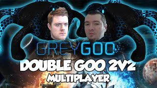 Grey Goo Ranked 2v2 Multiplayer Gameplay - DOUBLE THE GOO, DOUBLE THE GOODNESS