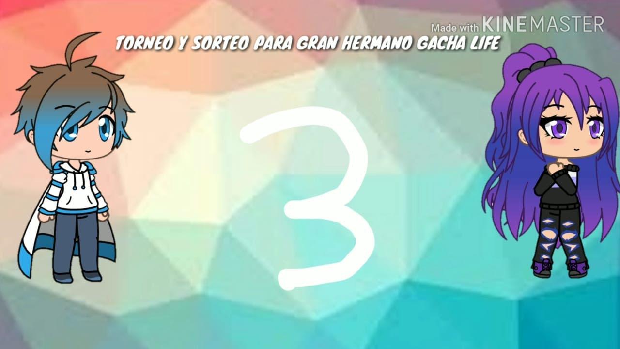 TORNEO Y SORTEO GRAN HERMANO GACHA LIFE TEMPORADA 3