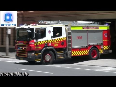 Pump Runner 001 City of Sydney Fire & Rescue NSW