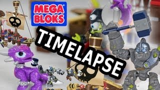 crushers pirate quest mega bloks timelapse w axecutioner cynder too dad son build