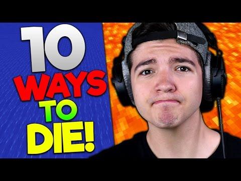 THE GOAL IS TO DIE?... | (10 Ways to Die in Minecraft)