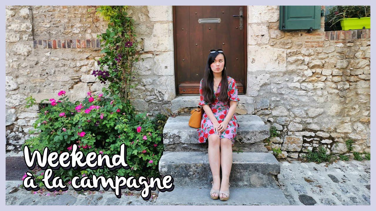 CUỐI TUẦN Ở NGOẠI Ô PARIS 🌿 Học Tiếng Pháp Cùng Mình [Vlog Tiếng Pháp Vietsub]   Alors Queenie