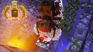 ПОПАЛ В ПЕЩЕРУ К СТРАШНЫМ ПАУКАМ РПГ Азерус! Minecraft Azerus