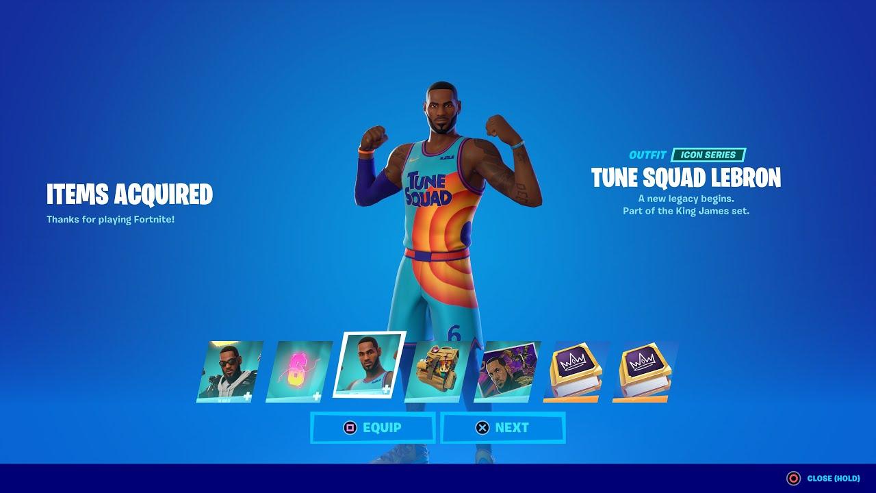 Fortnite News: Update 17.20 soon, date for LeBron James skins