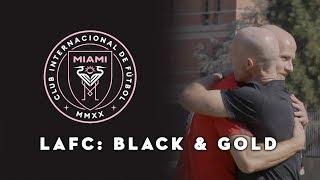 Inter Miami CF Logo Reveal, Father & Son Legacy in MLS | LAFC: Black & Gold