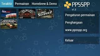 Cara setting Game PPSSPP pes 2015