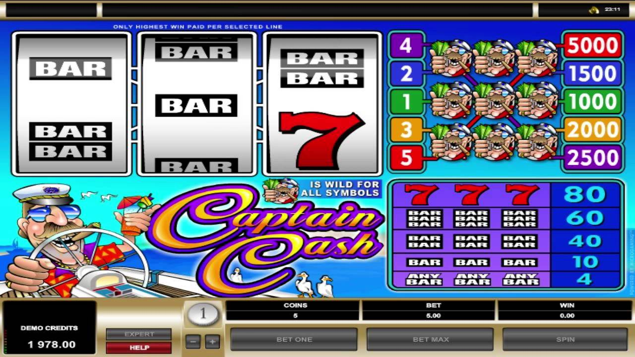 Captain Cash provides a digital yet nostalgic slot playing experience.Betsoft has reverted to the past, scaled down the special effects, and kept things simple for this game to replicate real-life fruit machines.The game has a simple design and the gameplay is basic, .