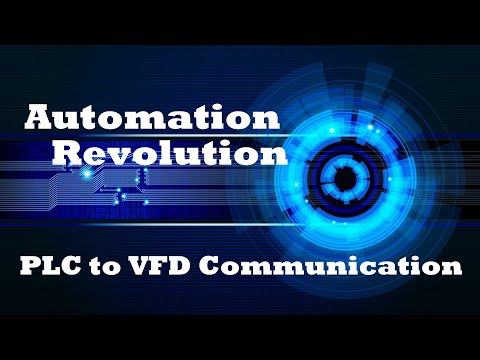 PLC to Drive (VFD) Communication with Standard Telegram