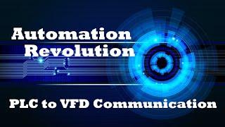 PLC to Drive (VFD) Communication & Control  with Standard Telegram