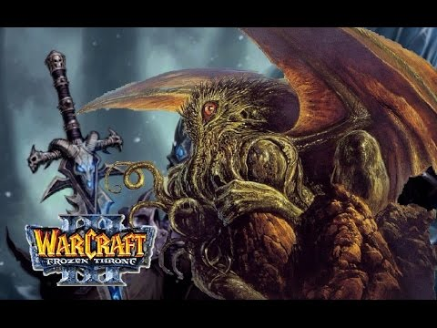 lets play Warcraft 3 (bit of Lovecraft)