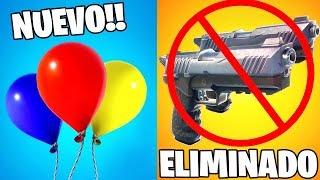 3 ARMAS ELIMINADAS de FORTNITE!! CAMBIOS en la ACTUALIZACIÓN v6.21 (Fortnite: battle royale)