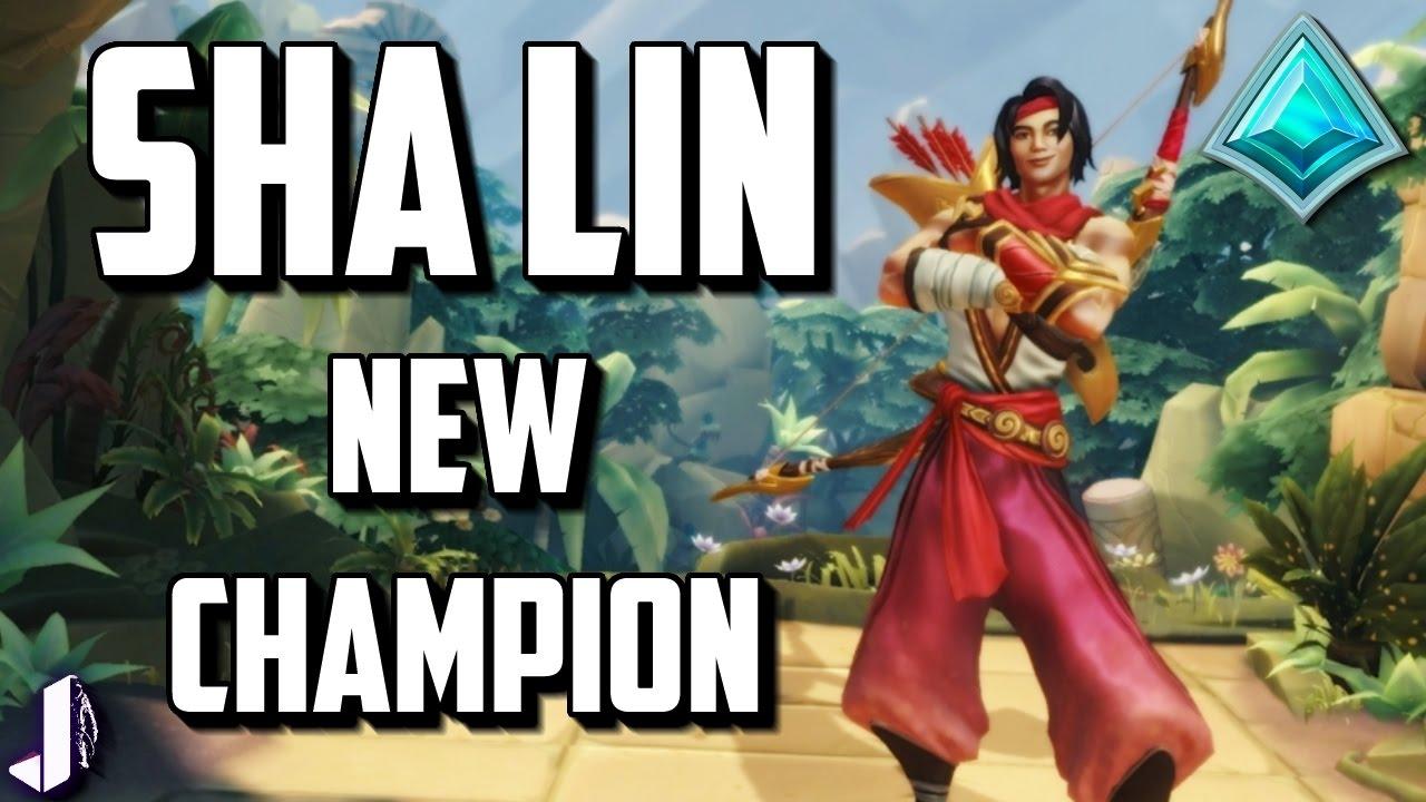 PALADINS NEW CHAMPION SHA LIN OB37 Preview - YouTube