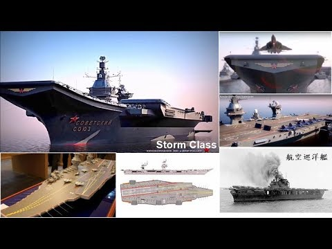 挑戰新聞軍事精華版--俄羅斯新重型「載機巡洋艦」劃擬在2025年前開工